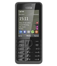 NEW Cond NOKIA 301 BLACK **UNLOCK** 3G MOBILE PHONE SIM FREE BLUETOOTH FM RADIO
