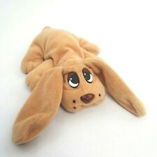 Vtg 90s Toy Pound Puppies Mini Small Plush Stuffed Brown Dog Lewis Galoob 1995