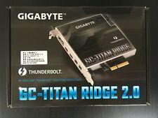 GIGABYTE GC-TITAN RIDGE (rev. 2.0) Network Card