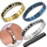 Germanium Stone Titanium Health/Healing/Relief Magnetic Expandable Bracelet