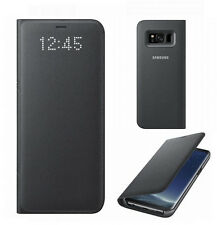 Originale Samsung Galaxy S8+ Plus Led View Custodia a Libro EF-NG955 Custodia