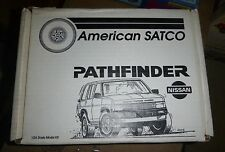 AMERICAN SATCO NISSAN PATHFINDER 1/24 Model Car Mountain KIT OPEN