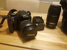Canon EOS Rebel Canon EOS Rebel T3 12.2MP Digital SLR Camera - Black (Kit w/...