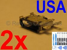 2x Micro USB Charging Port Charger Power Sync For Motorola Moto G4 / G4 plus USA