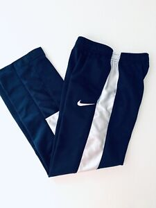 Nike Youth Boys Navy White Pull-On Athletic Pants Size 7
