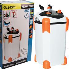 Aqua One Ocellaris External Aquarium Fish Canister Filter 850 2 + 1 WARRANTY