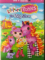 Lalaloopsy Ponies: The Big Show (DVD, 2014)