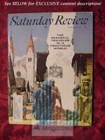 Saturday Review October 14 1967 TRAVEL ARCHIBALD MACLEISH CLARK M. EICHELBERGER