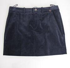 $795 NEW Authentic Gucci Velveteen Skirt w/2 Pocket, Interlocking G, 38 #273045