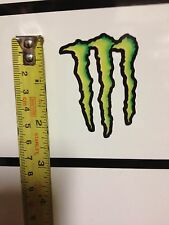 VISOR DECALS VALENTINO ROSSI MONSTER SET OF 2 STICKERS