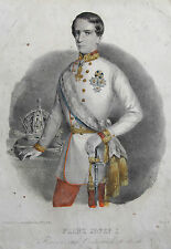 Original-Lithographien (1800-1899) aus Österreich mit Porträt & Persönlichkeiten