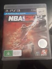 NBA 2K12 sony Playstation 3 PS3 game basketball very good condition free post