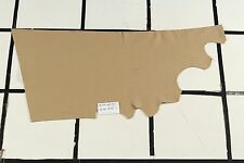"""Mulgora"" Beige Scrap Leather Hide - Quality Grain - Approx. 3 sqft. Q84W16-7"