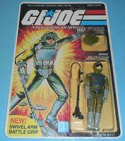1983 GI Joe Tripwire v1 Figure Complete Sealed MOC *CUSTOM Full Card Back *READ*
