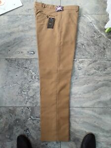 Moleskin trousers heavyweight british cloth, Camel sizes 32 to 42