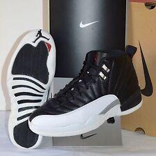 1997 Nike Air Jordan XII Black/White/Varsity Red Playoffs OG Mid VNDS sz 11 Box