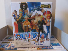 COFFRET ONE PIECE  9 FIGURINES IMPORT BANDAI  ETAT NEUF