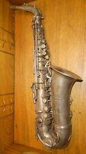 Old French Saxophone For Restoration - Monopole Couesnon & Cie Paris #2042
