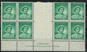 Australia Predecimal Mint Block MH