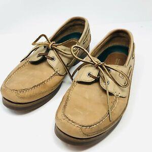 Sperry Top-Sider Mens Mako 2-Eye Canoe Moc Boat Dock Shoes Sz 10.5 W (0764043)