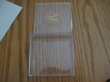 Vintage Fender 50th Anniversary Guitar Pick Box Store Display Case Used W/ Wear