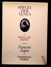 Spiegel der Venus Wingate Paine Verlag C.J.Bucher 1966 Text Federico Fellini