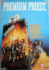 Judas Priest Fuel For Life 1986 Vintage Orig Music Store Vhs Video Prom0 Poster