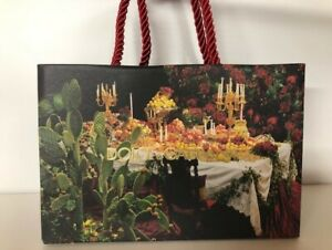 Dolce and Gabbana MUSICAL Christmas Gift Bags TWO SIZES ~ XMAS 2020 GIFT IDEAS
