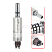 Dental Inner Water Air Motor E-type Low Speed Handpiece 4 hole Press button