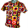 Wassily Kandinsky Square Circle Color Abstract Fine Art Print Men Top T-shirt