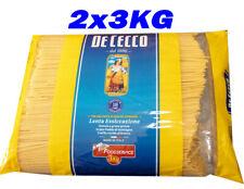 De Cecco Spaghetti Pasta 2X3KG
