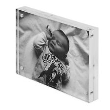 6 x 4 Acrylic Photo Frame/Block, Free Standing