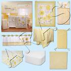 Bright Blossom 9pc w/BUMPER Crib Bedding Set by NoJo Collection