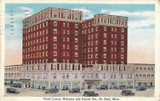 Postcard Hotel Lowry Wabasha + Fourth Sts St Paul MN