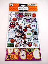 Halloween Stickers Package 131 Decals Scrapbooking Paper Crafts Ages 3+