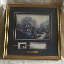 "Thomas Kinkade Inspirational Print w/Coa ""Chandler's Cottage"", 14x14.Lqqk"