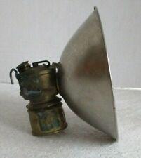 Vintage Justrite Miner's Lamp pat # 15127 Made USA