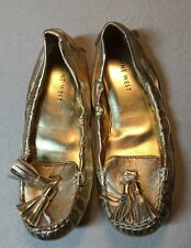 Nine West Trenti Gold Women's Flats Size 5.5M