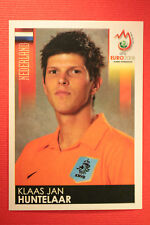 Panini EURO 2008 N. 273 HUNTELAAR NEDERLAND NEW With BLACK BACK TOPMINT !!