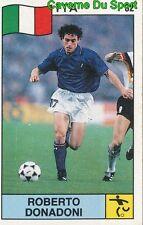 032 ROBERTO DONADONI ITALIA FOOTBALL STICKER SUPERSPORT 1988 PANINI RARE & NEW 2