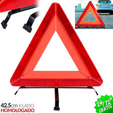 TRIANGULO EMERGENCIA REFLECTANTE DESMONTABLE COCHE EMERGENCY WARNING TRIANGLE