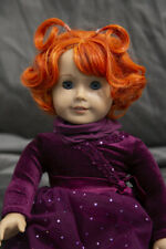 Doll Wig Short Curly Pig Tails Autumn Orange Size 10-13 in 26-30 cm NEW