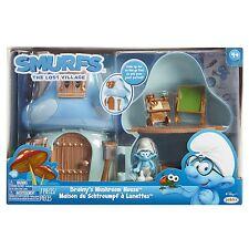 Smurfs The Lost Village Brainy's Mushroom House Playset