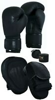 EVO MMA Boxing Gloves Focus Pads Set Muay Thai Martial Arts UFC Training Fight