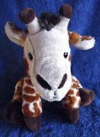 *1902b*  Teddy & Friends - Giraffe - plush - 22cm