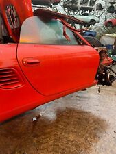 PORSCHE BOXSTER 986 DOOR  996 986 GUARDS RED DRIVERS SIDE DOOR SHELL PCZ