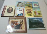 Lot of 9 Laura Ingalls Wilder Books Biography Little House on the Prairie Books