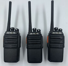 RETEVIS RT24 PROFESSIONAL PMR446 RADIO WALKIE TALKIES - IMMACULATE CONDITION X3