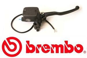 Brembo 13mm Black Lever Front Brake Master Cylinder Built In Reservoir 10462079