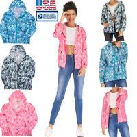 Mens Women Waterproof Windproof Jacket Oversized Lightweight Casual Rain Coat
